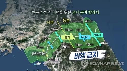 """국방부 """"NLL·한강하구에도 北과 협의해 비행금지구역 설정"""""""
