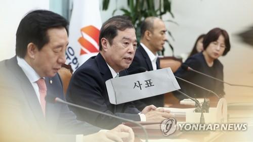 """한국, 현역 21명 당협위원장 교체 후폭풍…""""자의적 결정"""" 반발"""