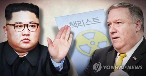 """日언론 """"김정은, 美폼페이오와 회담서 핵리스트 신고 거부"""""""