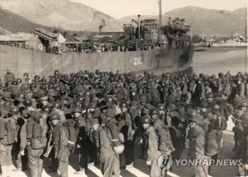 인천 상륙작전 폭격 피해주민 생활비 지원 일단 '제동'