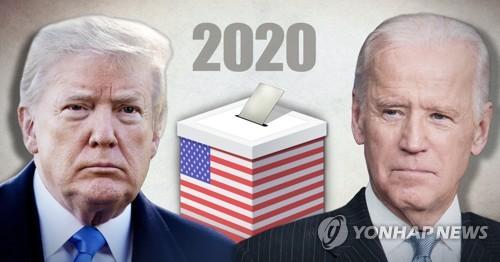 """바이든, 트럼프에 """"김정은 등 독재자들과 연애하는것 같아 우려"""""""