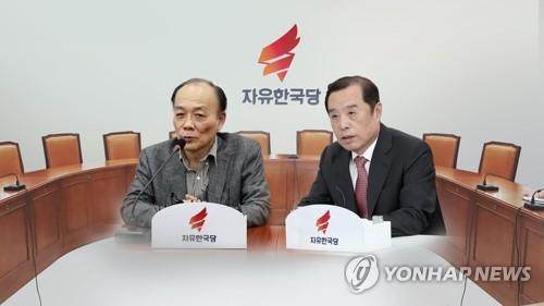 김병준-전원책 파열음…정리안되는 '보수통합'(CG)