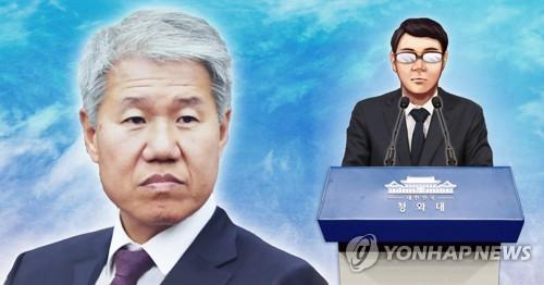 청와대 인사발표, 정책실장 김수현(PG)