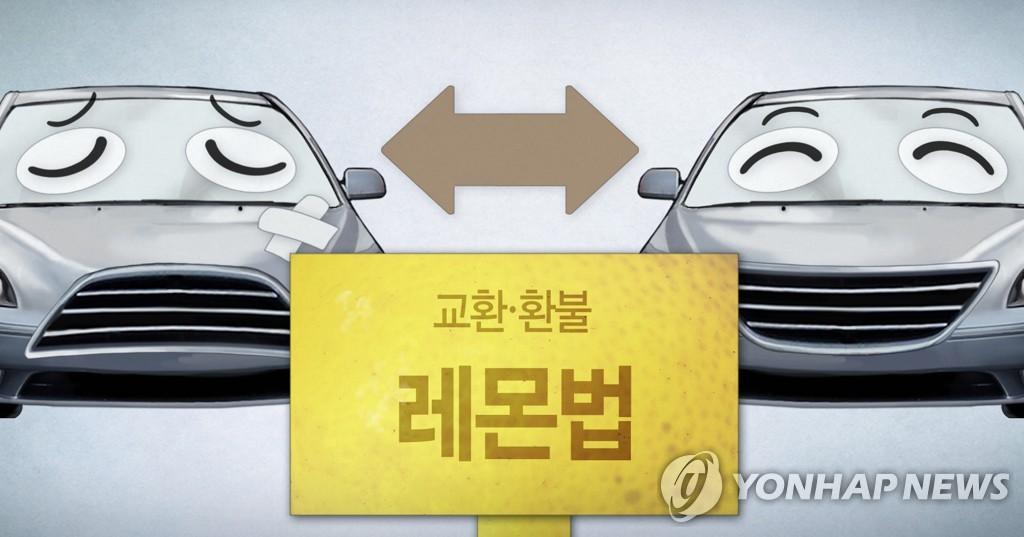새 차 고장 교환·환불 '레몬법' (PG)