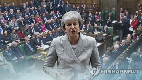 英 메이, '노 딜' 브렉시트 대비 내각회의…부처별 자금 배정