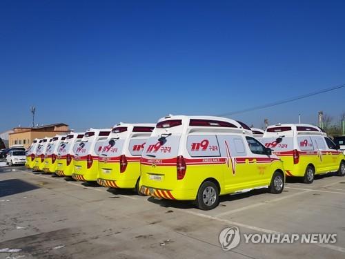 """광주 119구급차 이용 """"오전·남성·고령자 많아"""""""