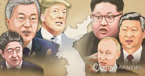 김정은-푸틴 만남 시작으로 한반도 정상외교전 본격화