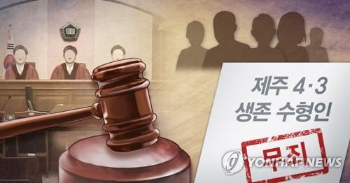 제주4·3수형인, 국가 상대 53억원 상당 형사보상 청구