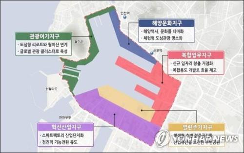 인천 내항 1·8부두 '도시재생 혁신지구' 지정 추진