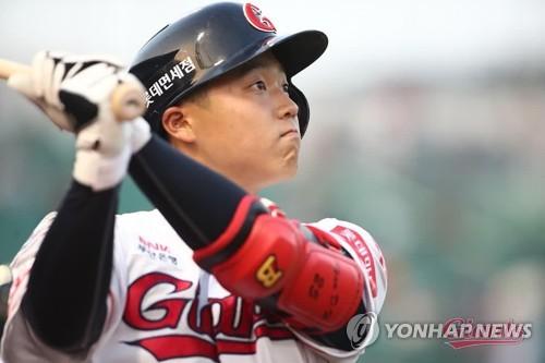 '한동희 홈런 포함 4안타' 롯데, 대만 푸방 15-8 제압