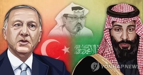 """""""터키, 'UAE 스파이 혐의' 2명 검거…카슈끄지 살해 관여 조사""""(종.."""