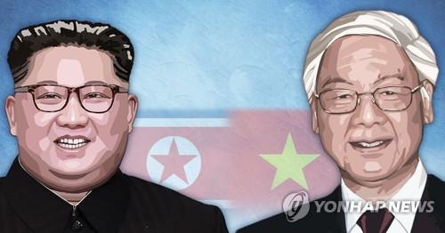 """""""김정은, 25일 베트남 도착…베트남 주석과 회담""""(종합)"""
