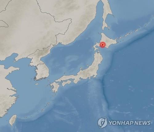 홋카이도서 진도 6약 지진…쓰나미 우려 없어(2보)