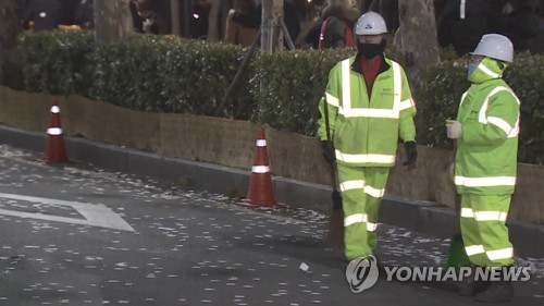 """창원서 민간위탁업체 환경미화원 숨져…""""열악한 근무환경 탓"""""""