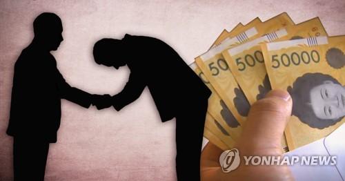 """""""영업사원 정도 역할은 하니…"""" 뇌물 584만원 받은 기초의원"""