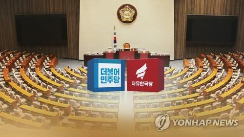 [팩트체크] 민주ㆍ한국당 지지율 격차 제각각인 이유는?