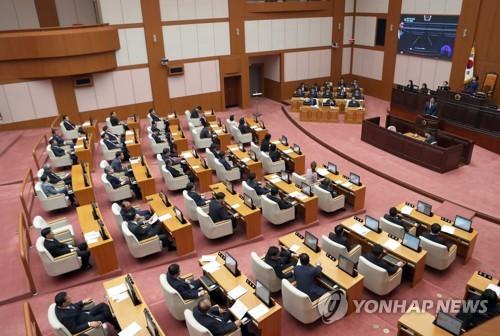 부산시의회 281회 임시회…남북교류협력특위 활동 연장