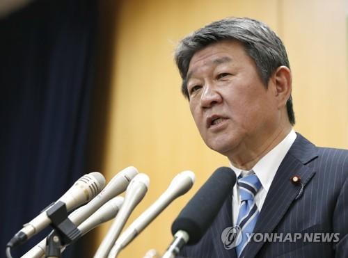 """일본 외무상 """"독도, 국제법상 일본 고유 영토"""" 주장"""