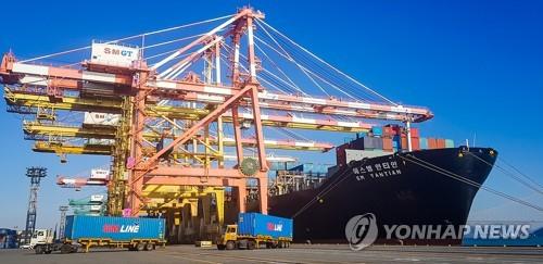 1∼7월 광주·전남 무역수지 흑자 20% 감소