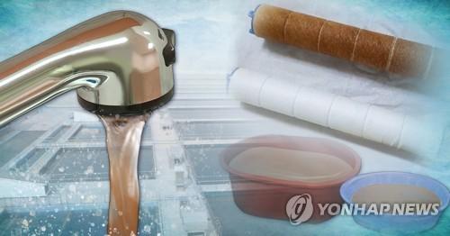 인천 '붉은 수돗물' 피해 지역에 제주 삼다수 40t 무상 지원