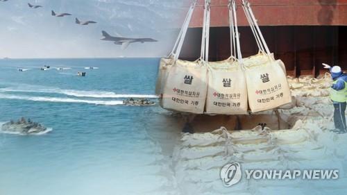 """정부, 9월내 쌀 지원 """"가능여부 언급 일러…北과 협의진전 기대"""""""