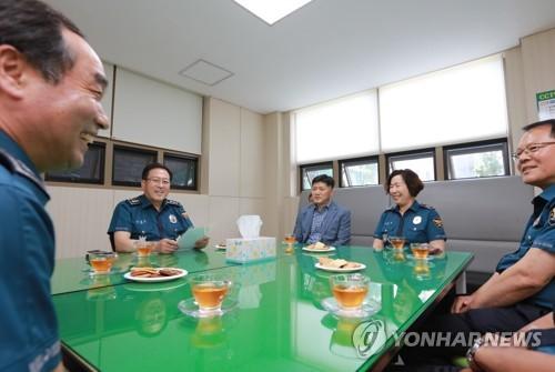 [동정] 이용표 서울경찰청장, 추석 치안 현장 격려 방문