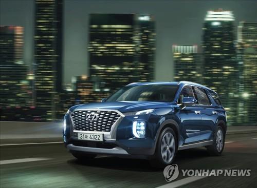 '팰·텔 쌍끌이'…현대기아차 美시장서 SUV 비중 55% 역대 최고
