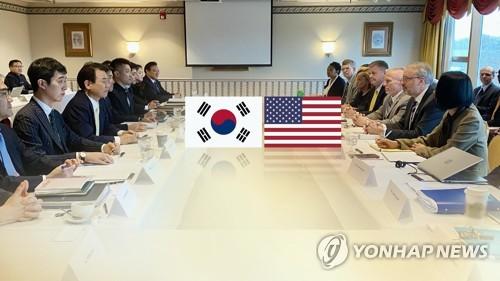 """방위비협상 '소폭인상'으로 가닥 잡나…""""끝을 향해가는 흐름"""""""