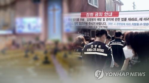 예배 강행 부산 교회 26곳, 발열 여부 미확인 등 예방지침 무시
