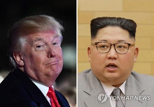 도널드 트럼프 미국 대통령(왼쪽)과 김정은 북한 노동당 위원장[AFP=연합뉴스]