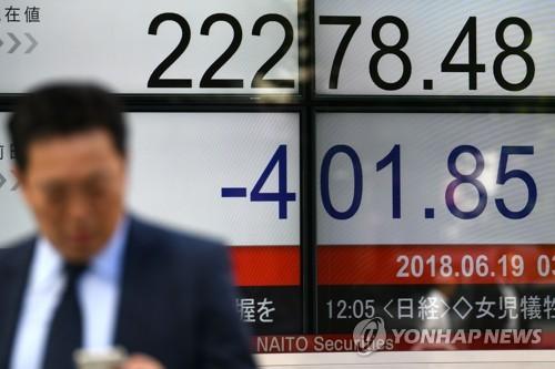 아시아 금융시장, '트럼프 쇼크'에 패닉…中증시 6% 폭락(종합)