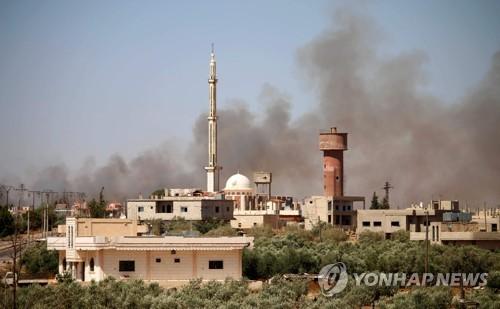 """""""휴전 준수"""" 미국 요구에도 시리아군, 남부에 '통폭탄'"""