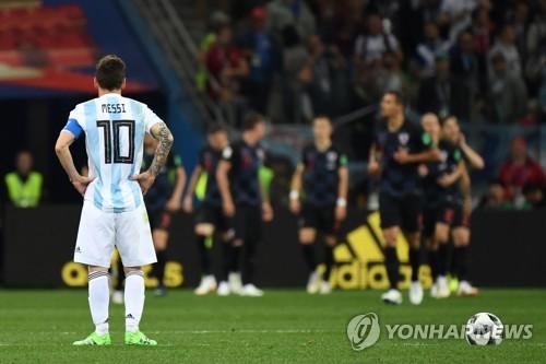 [월드컵] 메시, 대표팀 은퇴할 듯…감독-선수 간 불화설도