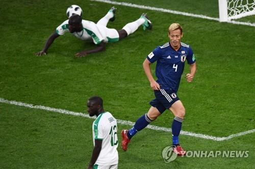 [월드컵] '특급 조커'로 부활한 혼다, 아시아축구 새 역사도 쓰다