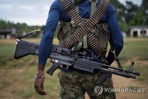 콜롬비아 최후 반군, 잇단 군경 납치…평화협상 '빨간불'