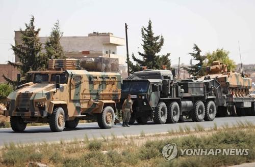 터키군, 시리아 이들립에 병력·장비 보강