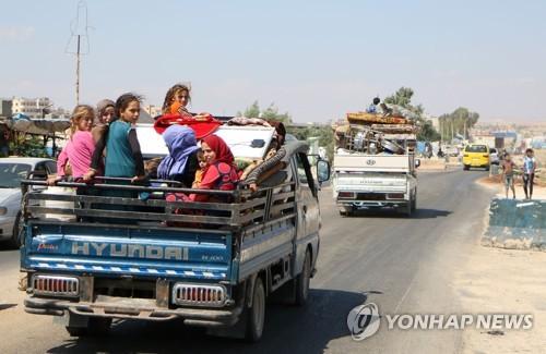 시리아 반군 최후 거점서 피란 움직임 시작
