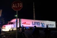멕시코서 신원미상 시신 157구 냉동트럭 보관