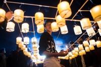 미얀마 밤하늘 수놓는 '따자웅다잉' 빛 축제