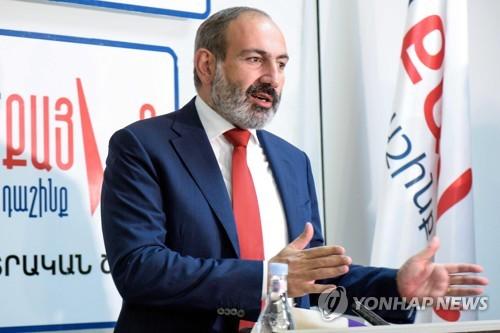 '무혈 시민혁명' 이끈 아르메니아 총리대행, 조기총선 압승(종합)