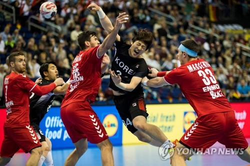 Unified Korean handball team eliminated from worlds after 4th straight loss