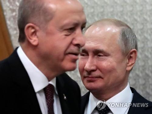 """터키 에르도안 """"시리아서 러·이란과 공동군사작전 가능"""""""