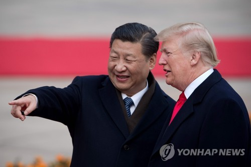 """미중, 무역합의 이르면 5월말 서명 추진…트럼프 """"성공 느낌""""(종합3보)"""