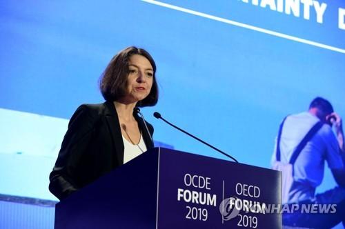 """OECD """"무역갈등이 주 위험요인…국제협력 틀 회복해야"""""""