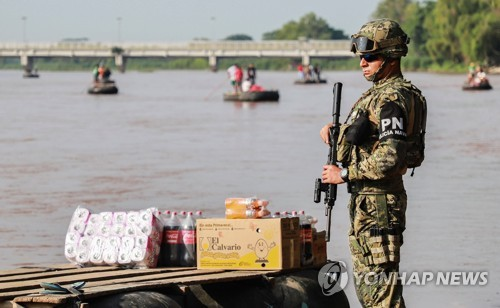 멕시코, 미국행 불법이민 부추기는 인신매매 집중 단속