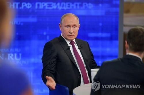"""푸틴 """"美의 이란 군사공격 재앙될 것…이란 극단적 선택 할수도"""""""