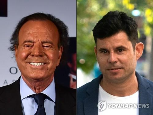 스페인 국민가수 훌리오 이글레시아스 친자소송서 패소
