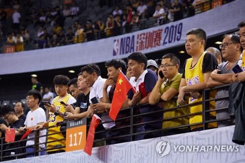중국서 NBA 경기 다시 중계…'홍콩 지지' 휴스턴은 제외