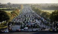 ′도심을 가득 채운 트랙터′…네덜란드 농부 反질소 규제정책 시위