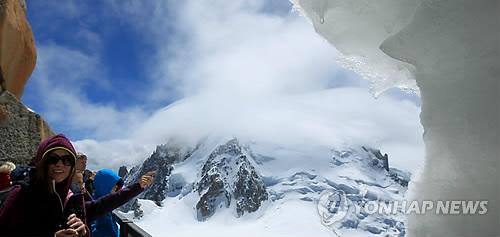 알프스 몽블랑 명물 케이블카 한 달간 운영중단